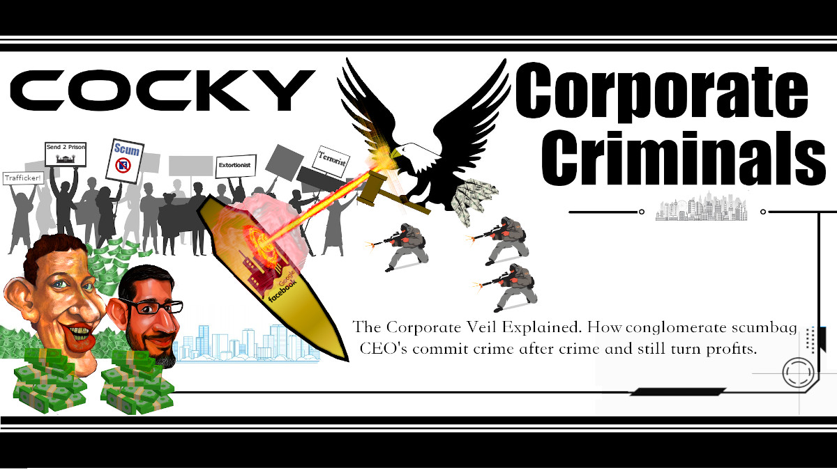 Cocky Corporate Criminals